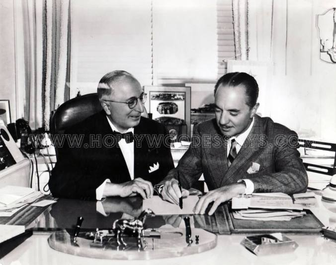 Paul Bern i Louis B. Mayer