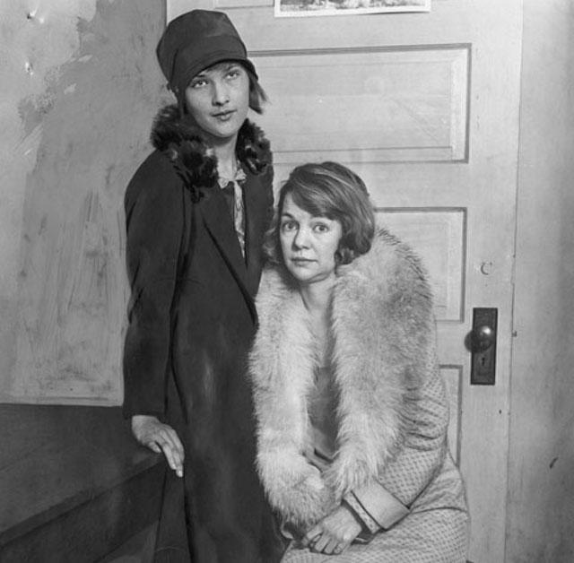 Od lewej: Ethyl Kaser iHazel Glab, 1928