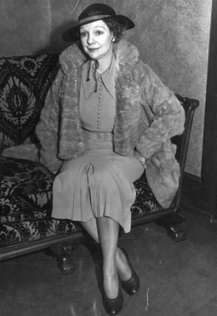 Hazel wpołowie lat 30.