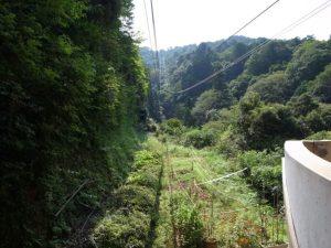城崎ロープウェイ 地上駅からの眺め