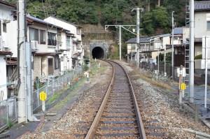 竹野駅側の風景