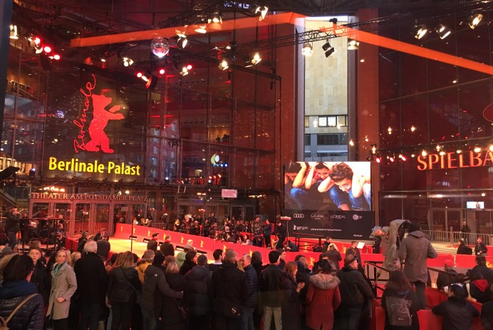 Berlinale Crowd at Berlinale Palace, 2019.
