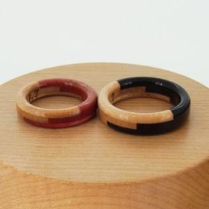 婚約指輪 木の指輪 指輪ケース