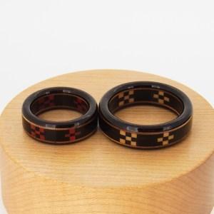 木婚式 プレゼント 木の指輪