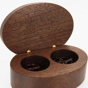 木婚式 プレゼント 指輪ケース