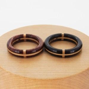 結婚指輪 木の指輪 十字