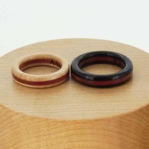木婚式 指輪 プレゼント カエデ