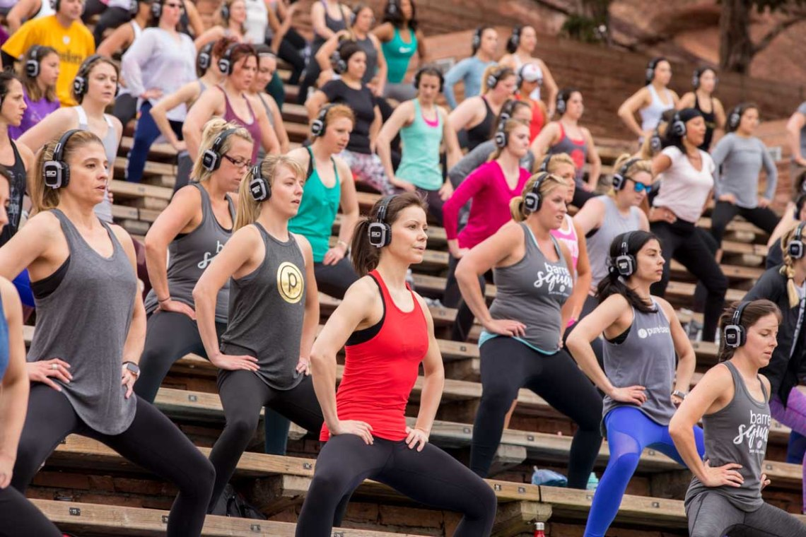 pure barre pop up red rocks