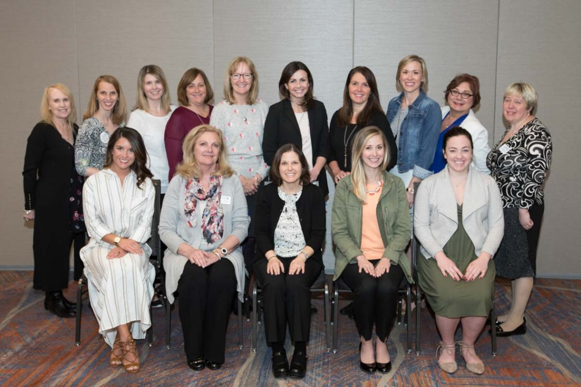 board meeting photo. group photo, conference photographer, women in nursing