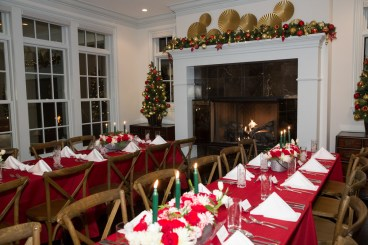 room decor at holiday party, corporate holiday party, corporate event, denver holiday party photographer, event holiday photographer