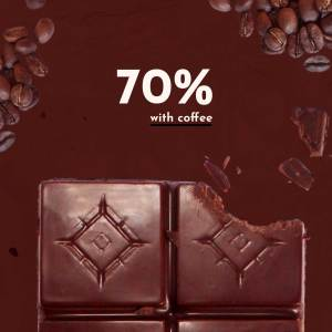 70% Cacao with Coffee