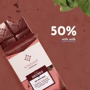 50% Cacao with Milk