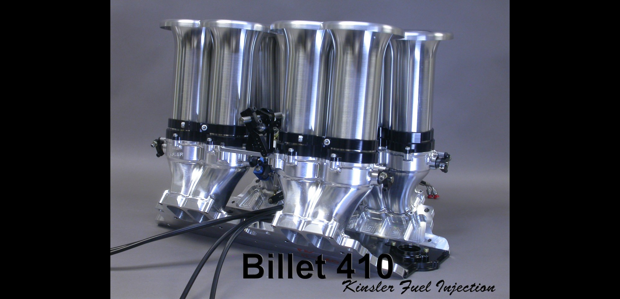 hight resolution of kinsler billet 410 intake manifold for small block chev ford etc