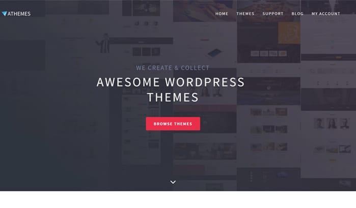 athemes wordpress sites