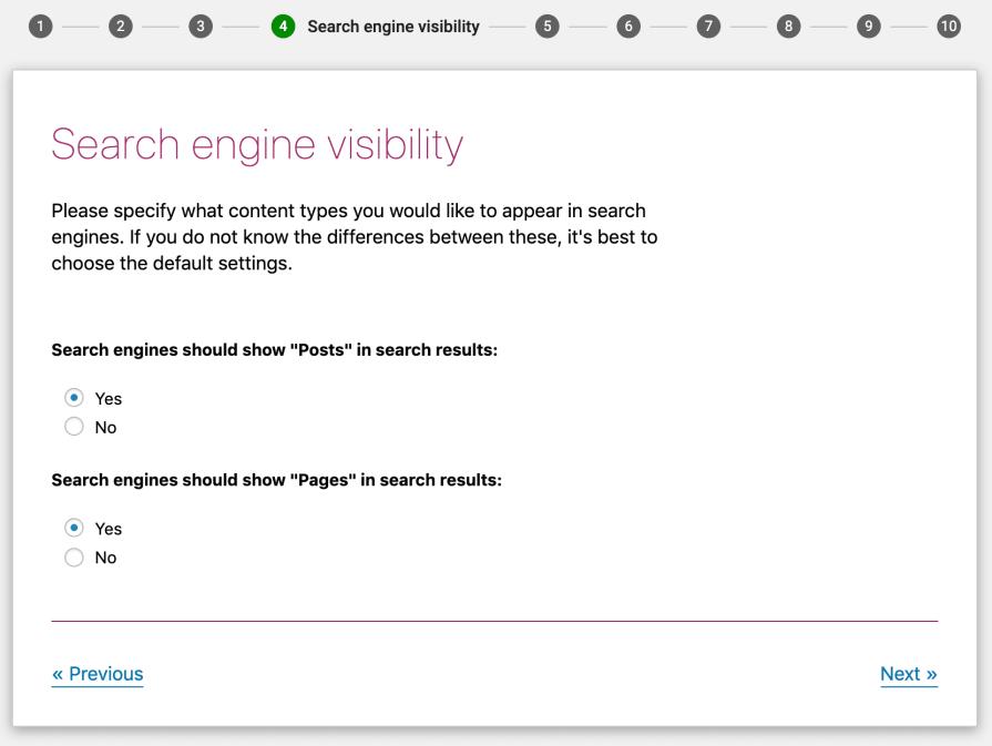 Yoast SEO visibilitas mesin pencari