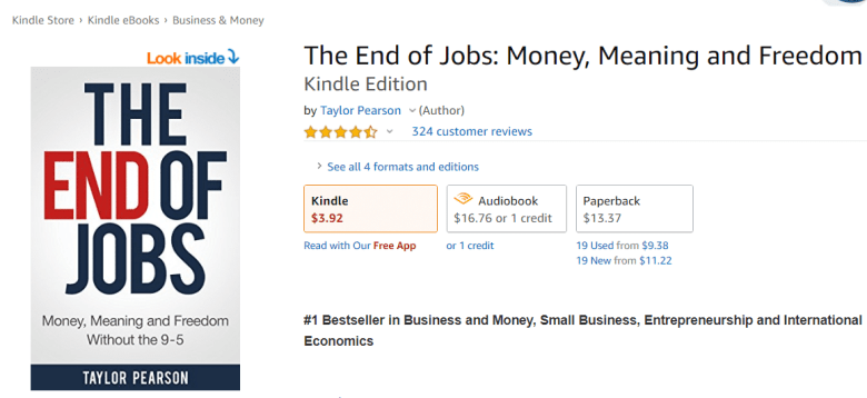 Ebook The End of Jobs