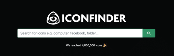 SaaS products: Iconfinder