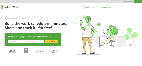 SaaS products: When I Work
