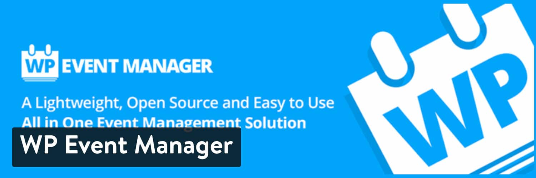 WP Event Manager WordPress plugin