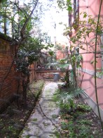 Ex giardino di casa gardin, allo sbando.