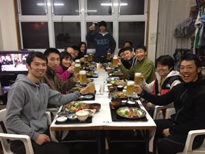 八甲田山で年越しパーティ!