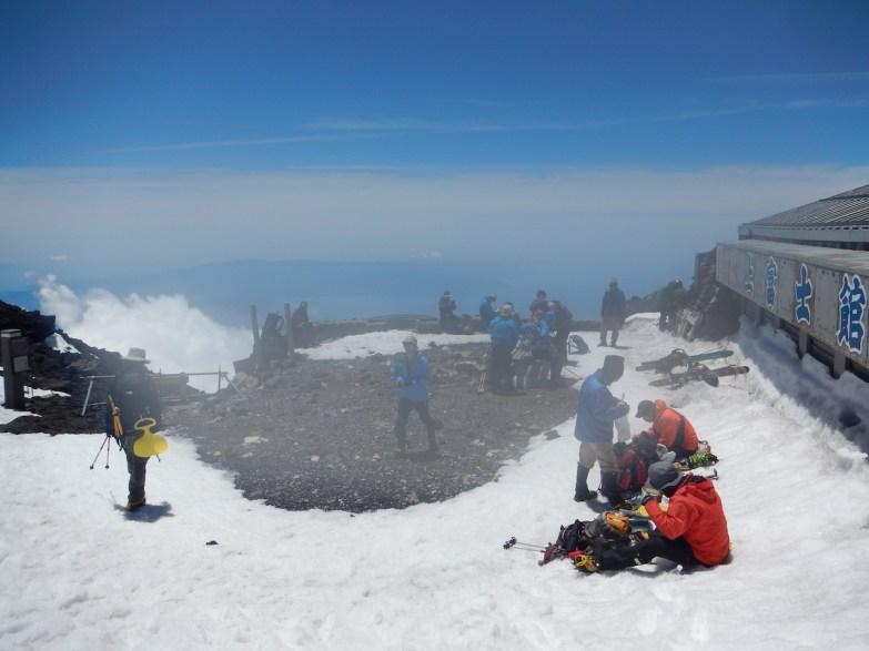 バックカントリー富士山