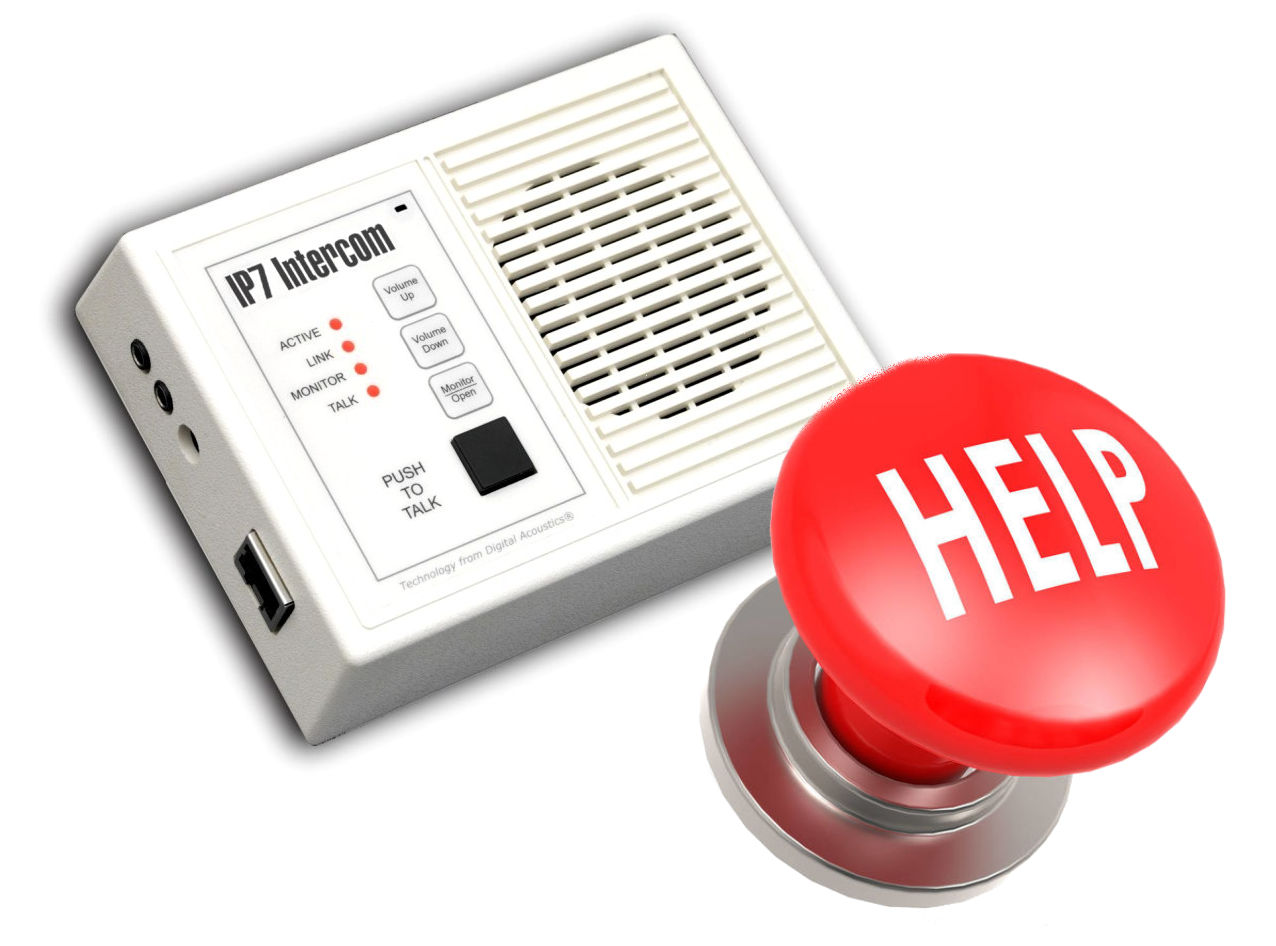 hight resolution of for example an intercom in an administrator s office can be used to alert security of a