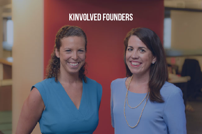 Kinvolved founders: Alex Meis and Miriam Altman