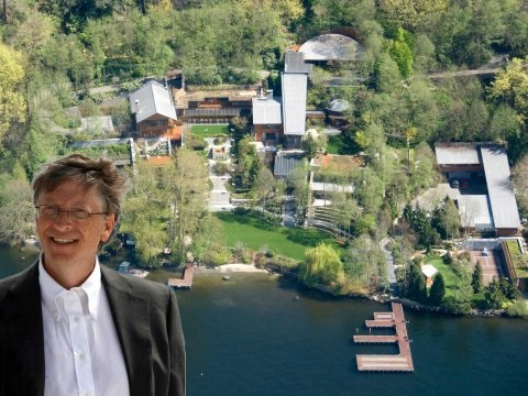 ビル・ゲイツ~大富豪 豪邸を公開~資産価値約1億7000万ドルのお屋敷