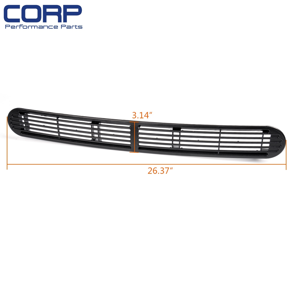 Dash Defrost Vent Cover Grille Black GMC Oldsmobile Chevy