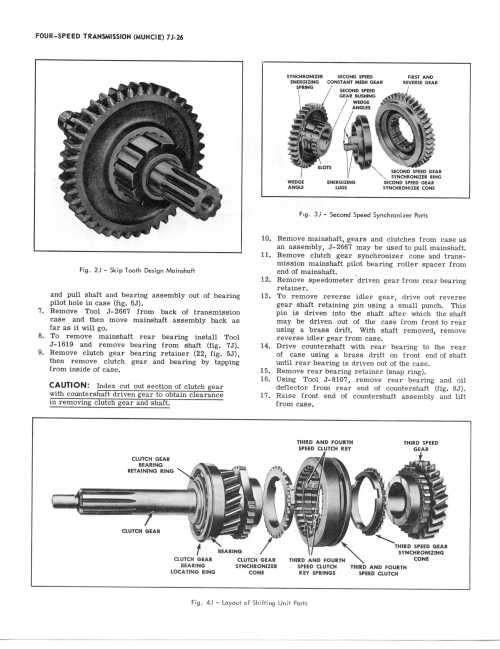 small resolution of chevy transmission service manuals gm sm420 parts diagram
