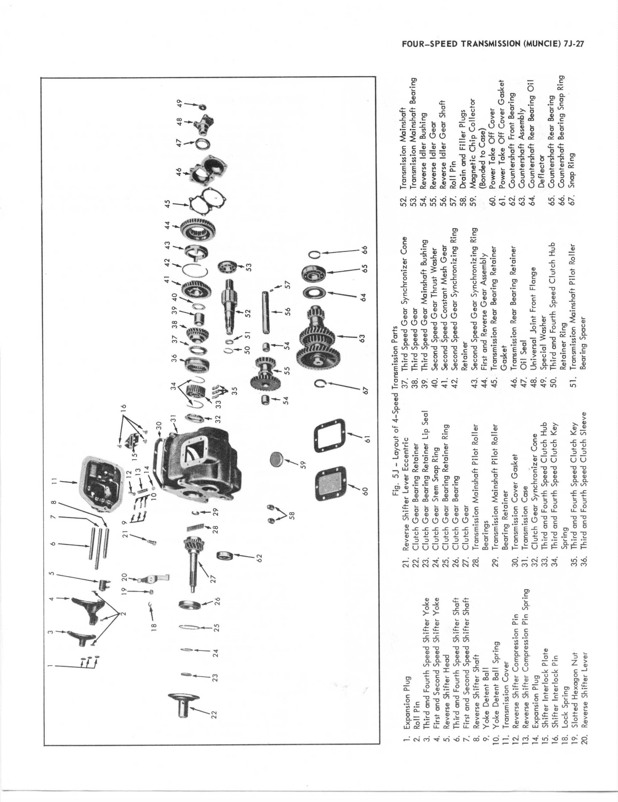 hight resolution of transmission assembly diagram