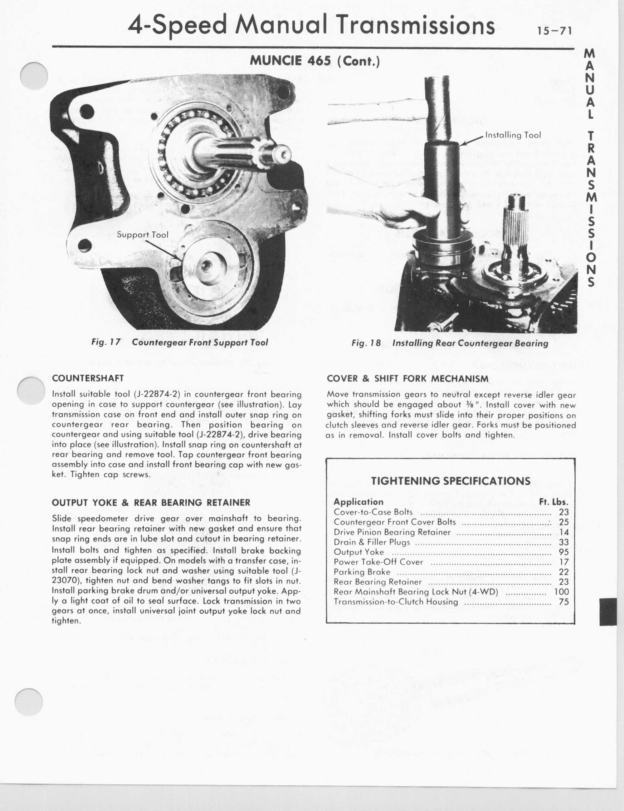 Sm465 Diagram - gm transmission manual identification