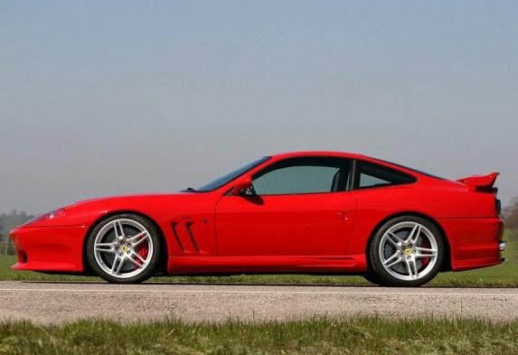 2005 Ferrari 575M Maranello Novitec Rosso; top car design rating and specifications