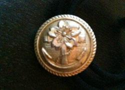 櫻に錨のボタン