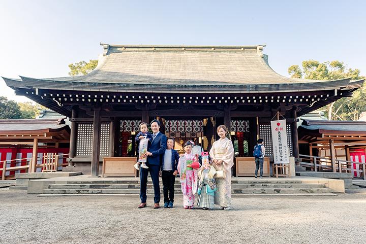 七五三撮影at大宮氷川神社