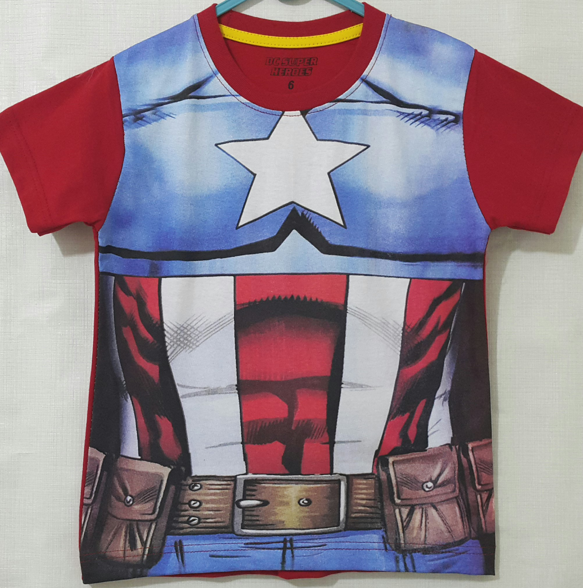 kaos captain america body costum 16  GrosirEceran