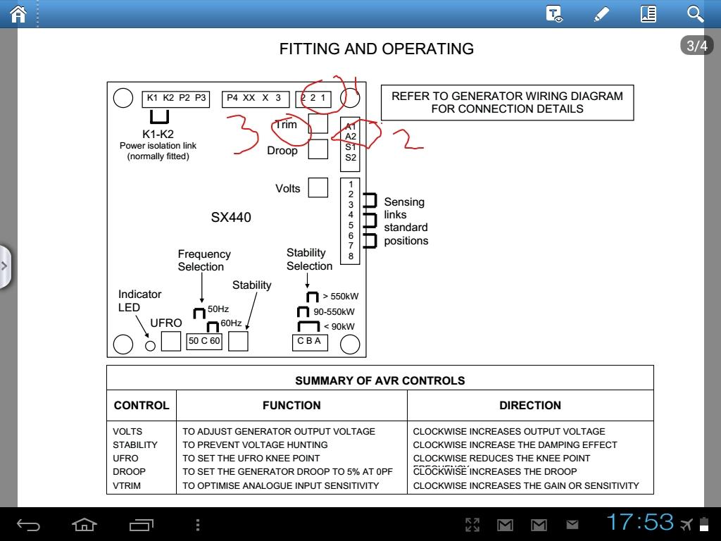 sr7 avr wiring diagram java code to uml sx440 24 images