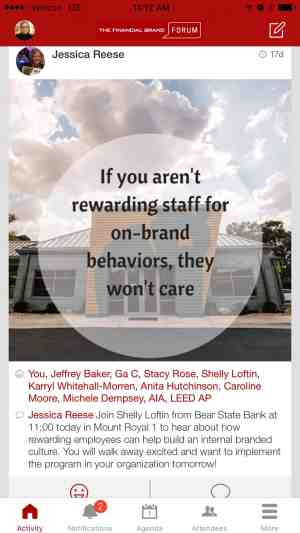 Reward Staff Behavior