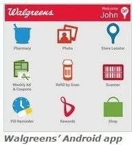Android Walgreen application