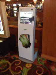 Tropicana gaming kiosk