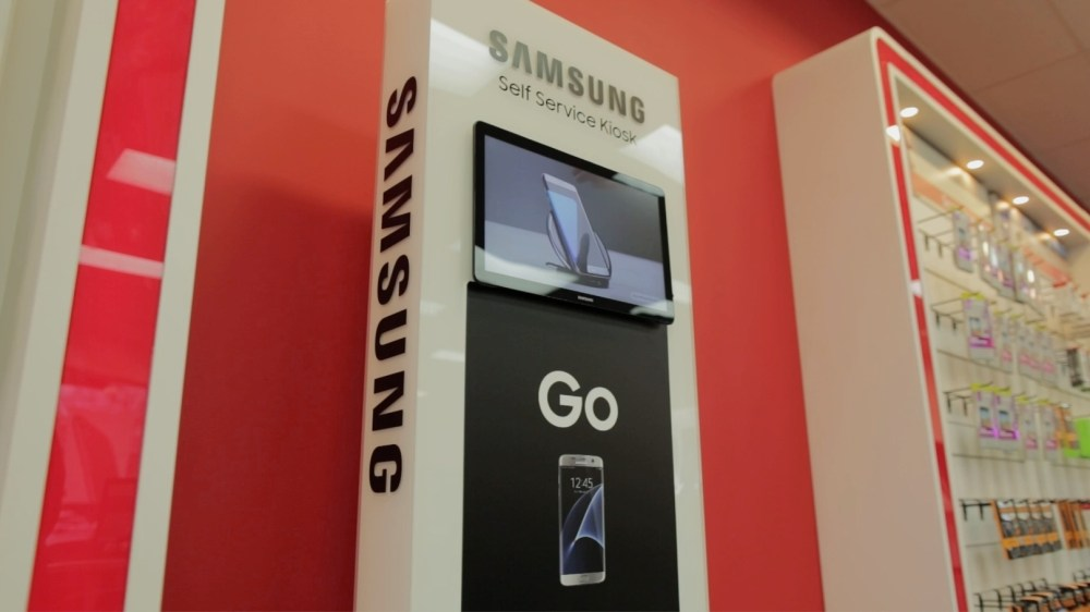 medium resolution of samsung partners with iqmetrix to deliver endless aisle kiosk business wire