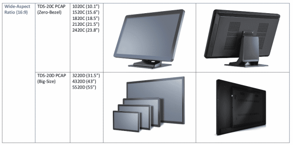 TDS Touch Screens