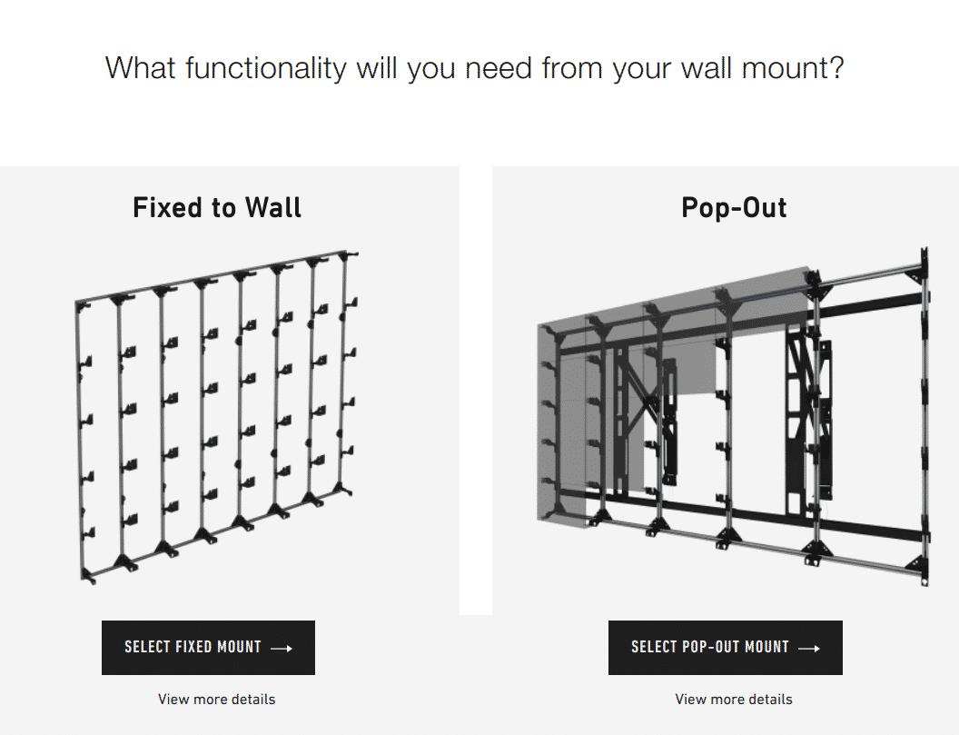 Peerless Av Introduces Led Video Wall Configurator