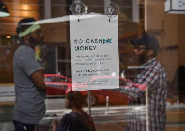 Cashless Restaurants