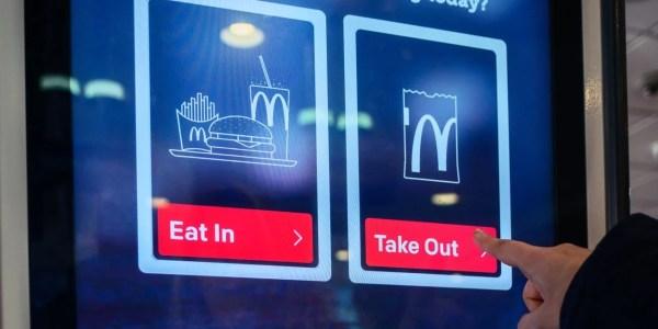 McDonalds Kiosks