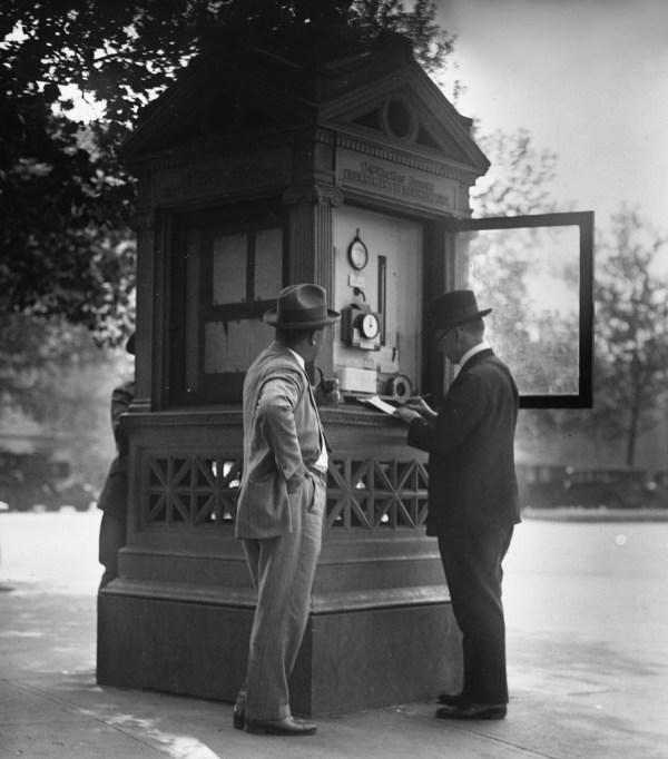 weather kiosk