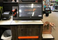 Home Depot Self-Checkout Kiosks