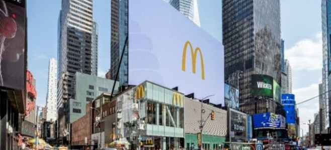 McDonalds Kiosk Times Square