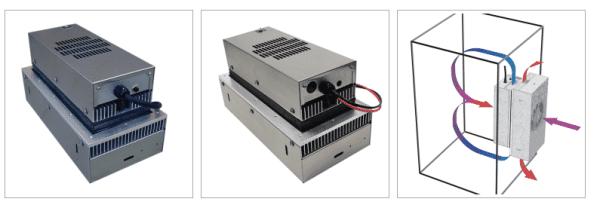 AHP-1200 Outdoor kiosk cooler